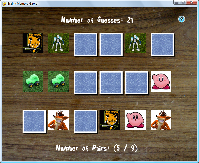 Python || Brainy Memory Game Using Pygame – My Programming Notes