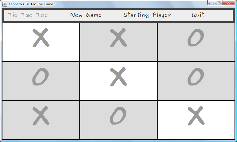 Java || Simple Tic Tac Toe Game Sample Code GUI – My